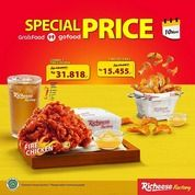 Richeese SPECIAL PRICE TERSEDIA JUGA DI GOFOOD/GRABFOOD!! (28958710) di Kota Jakarta Selatan