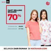 Matahari Fast Selling Brand 70% (28962941) di Kota Jakarta Selatan