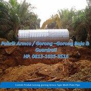 Culvert Pipa Baja Galavanis Aramco Multi Plate Pipe Nestable Flange (28963425) di Kab. Solok Selatan