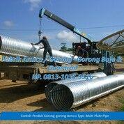 Pipa Besi Culvert Armco Ready Stock (28963451) di Kab. Musi Banyuasin