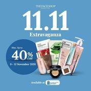 The Face Shop 11.11 EXTRAVAGANZA Disc. Up To 40% (28964066) di Kota Jakarta Selatan