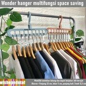 Wonder Hanger Instan Perlengkapan Rumah Multifungsi (28973473) di Kota Jakarta Timur