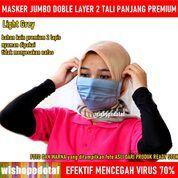 Masker Kain Jumbo Anti Virus Jumbo Hijab Tali (28973518) di Kota Jakarta Timur