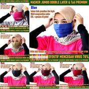 Masker Premium Kain 2 Layer Big Size (28973655) di Kota Jakarta Timur