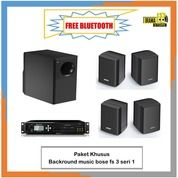 Background Music - Bose Freespace 3 Seri - 1 Bh Speaker Module + 4 Speaker Satellite (28973906) di Kab. Tebo