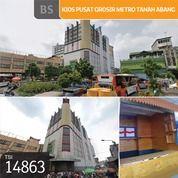 Kios Pusat Grosir Metro Tanah Abang, Jakarta Pusat, Blok B, 2x2m, Lt 2, HGB (28987320) di Kota Jakarta Pusat