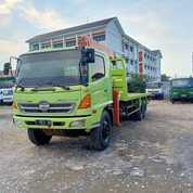 Hino Lohan FM260JW Long Truck CRANE 5Ton Tronton Istimewa Sekali (28994708) di Kota Jakarta Barat