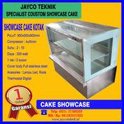 Showcase Cake Display Kue Portable Kotak (29002906) di Kota Bekasi