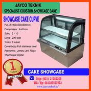 Cake Showcase Display Kue Kaca Curve (29010321) di Kota Bekasi