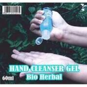 BIO HERBAL HAND SANITIZER CLEANSER GEL BOTOL 60 ML BIOHERBAL (29015737) di Kota Bekasi