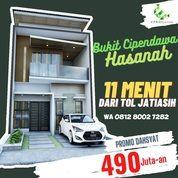 Rumah 2 Lantai Jatiasih Bekasi Kota Bebas Banjir Dekat Pintu Tol (29016863) di Kota Bekasi