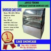 Etalase Kue Showcase Cake Curve (29022705) di Kota Bekasi