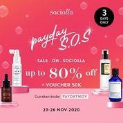 Sociolla PAYDAY S.O.S di Sociolla.com (29023815) di Kota Jakarta Selatan
