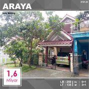 Rumah 2 Lantai Luas 135 Di PBI Araya Kota Malang _ 531.20 (29029730) di Kota Malang