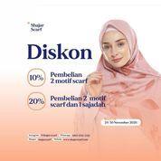 Shajar Scarf Diskon 10% + 20% (29034930) di Kota Jakarta Selatan