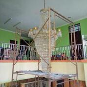 JASA PEMASANGAN, SERVICE, CUCI, BONGKAR PASANG LAMPU HIAS KRISTAL JAKARTA SELATAN DAN SEKITARNYA (29036172) di Kota Jakarta Selatan