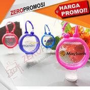 Souvenir Hand Sanitizer Bulat + Gantungan Pocket Holder Custom (29040962) di Kota Tangerang