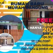 Wow! Rumah Cihanjuang Dkt Wisata Lembang Bonus Mesin Cuci (29041963) di Kab. Bandung Barat
