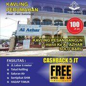 KAVLING CASHBACK 5 JUTA DAN FREE PAJAK DEKAT JALAN SOLO BAKI DI SIWAL BAKI (29046111) di Kab. Sukoharjo