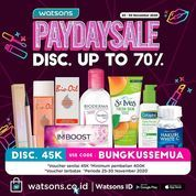 Watson Payday Sale Disc. Up To 70% (29046245) di Kota Jakarta Selatan