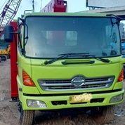 Self Loader Truck Hino FM260TI Tahun 2012 Kapasitas 7 Ton (29054599) di Kota Jakarta Timur