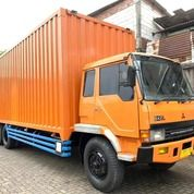 MULUS+BanBARU, Fuso Tronton 6x2 SUPERLONG Box Besi 2018 6x2L ML2 (29067297) di Kota Jakarta Utara