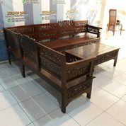 Kursi Sudut Alami Jati Cantik Tw51 (29068206) di Kab. Bandung