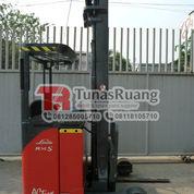 Forklift Linde 6 Meter Elektrik Forklift Bekas R14S (29069178) di Kota Jakarta Utara