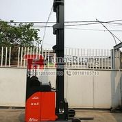 Linde Reach Truck Forklift Bekas 11.5 Meter Kapasitas 1.6 Ton (29069392) di Kota Jakarta Utara