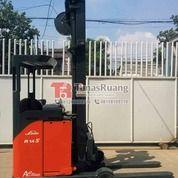 Forklift Linde Double Deep 1.4 Ton Reach Truck Elektrik Bekas (29069410) di Kota Jakarta Utara
