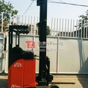 Forklift Linde 1.4 Ton Reach Truck Elektrik 8 Meter (29069644) di Kota Jakarta Utara
