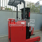 Forklift TCM Reach Truck Trilift 4.5 Meter Bekas Second Bergaransi (29069657) di Kota Jakarta Utara