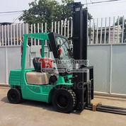 Mitsubishi 3 Ton Caterpillar Diesel Forklift 4.5 Meter Second Bekas (29069721) di Kota Jakarta Utara