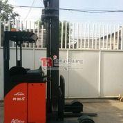 Forklift Linde Reach Truck Battery Elektrik Second Bekas 2 Ton 6 Meter (29071612) di Kota Jakarta Utara
