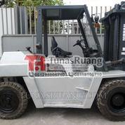 Forklift Diesel 5 Ton Nissan Brand Engine Forklift Import (29071911) di Kota Jakarta Utara