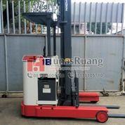 Forklift Nichiyu Elektrik Murah Ketingian 6 Meter Mast Reach Truck Battery (29071972) di Kota Jakarta Utara