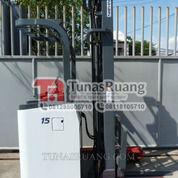 Forklift Nichiyu Baterai 6 Meter Elektrik Reach Truck Second (29071997) di Kota Jakarta Utara