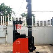 Linde Reach Truck 1.4 Ton 9 Meter Mast Forklift Baterai Bekas (29072222) di Kota Jakarta Utara