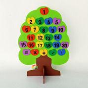 Pohon Huruf Angka Hijaiyah Mainan Edukasi Anak PAUD TK (29072480) di Kab. Tana Tidung