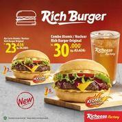 Richeese RICH BURGER HADIR DI BEKASI DAN KARAWANG!! (29079086) di Kota Jakarta Timur