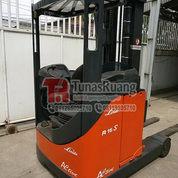 Linde Reach Truck 1.6 Ton Teleskopic Unit Double Deep Racking (29083301) di Kota Jakarta Utara