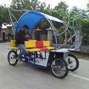 Sedia Becak Cinta Odong Gowes Pancal (29084333) di Kota Jambi