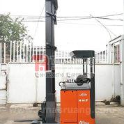 Forklift Linde 10 Meter Reach Truck Unit Baterai Elektrik Import (29092945) di Kota Jakarta Utara