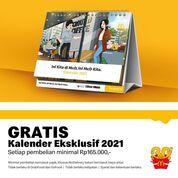 Kalender 2021 McDonalds! Kamu bisa dapatin Gratis loh!* (29097215) di Kota Jakarta Selatan