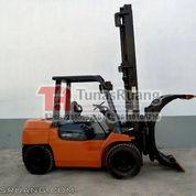 Forklift Toyota 3.5 Ton With Roll Clamp Attachment Include Instalasi (29108941) di Kota Jakarta Utara