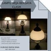 LAMPU MEJA BERGAYA CLASIK DAN SANGAT MENAWAN COCOK BUAT RUMAH MEWAH ATAU RUMAH KUNO (29108995) di Kota Yogyakarta