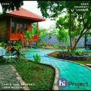 Tanah Plus Bangunan Dengan Konsep Villa Di Lingsar Lombok Barat T491 (29142748) di Kab. Lombok Barat