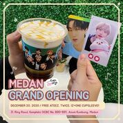 Kopi Chuseyo is coming to Medan on December 20, 2020 FREE ATEEZ, TWICE & IZ*ONE CUPSLEEVE (29168216) di Kota Medan
