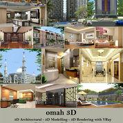 Jasa Pembuatan Gambar 3d Arsitektural (Eksterior/Interior) Dan Animasi 3D (29183018) di Kota Tangerang Selatan
