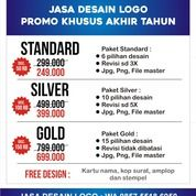 Jasa Desain Logo Promo Khusus Akhir Tahun (29183443) di Kota Jakarta Selatan